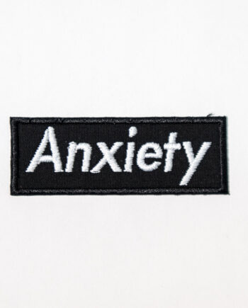 Embroidered Anxiety Patch by Crewel and Unusual