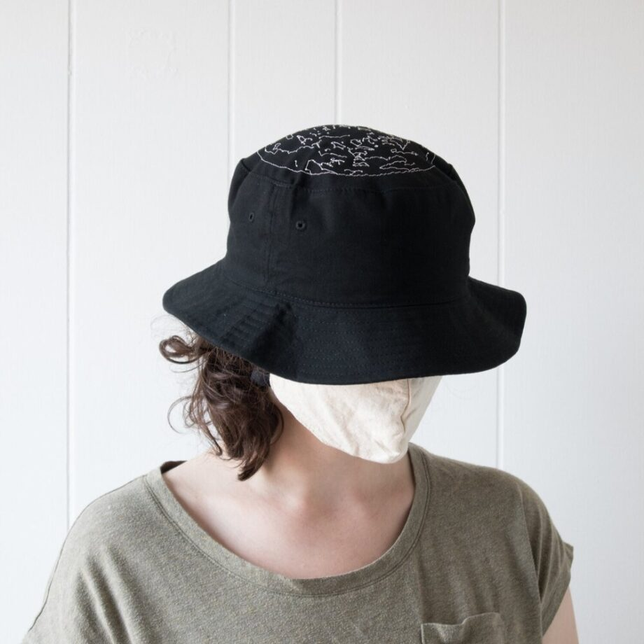Constellations Bucket Hat by Crewel and Unusual