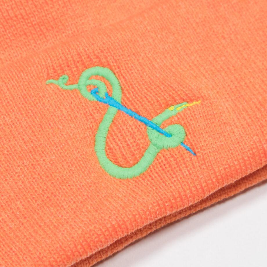 Embroidered Crewel & Unusual Beanie