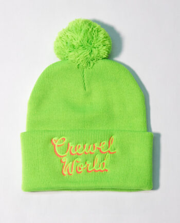 Crewel World beanie by Crewel and Unusual