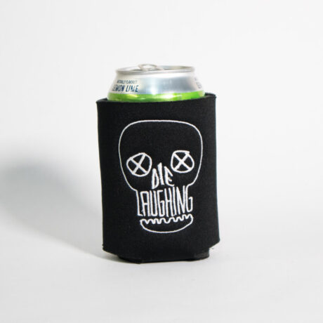 Die Laughing Can Cooler by Crewel and Unusual